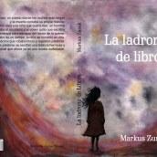 """Rediseño de la portada del libro """"La ladrona de libros"""". Un proyecto de Bellas Artes de Andrea Pronsato - 11.05.2019"""