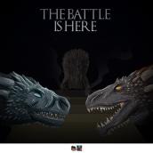 Battle of Winterfell. A Illustration, Design von Figuren, Vektorillustration und Kreativität project by Barhlo - 14.04.2019
