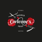 Corleones Barbershop. Un proyecto de Ilustración, Br, ing e Identidad y Diseño gráfico de Fran Ceballos - 13.05.2018