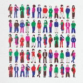 Guía fácil del Fons Català de Cooperació. A Design, Illustration, Character Design, Editorial Design, Cop, and writing project by Yoana Rial - 05.15.2018