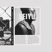 Seiyu — Identidad de Marca. Um projeto de Br, ing e Identidade, Design editorial, Design gráfico e Criatividade de azul recreo - 27.03.2019