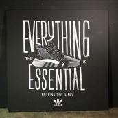 Colaboración adidas.. Un proyecto de Bellas Artes, Caligrafía, Lettering y Fotografía de moda de Chisko Romo - 17.02.2018
