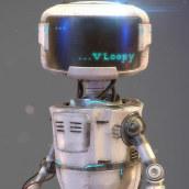 VLOOPY. Um projeto de Design de personagens 3D e Modelagem 3D de Victoria Passariello Fontiveros - 20.05.2019