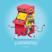 born to be free. Un projet de Illustration de Raeioul - 23.05.2019