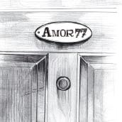 Amor 77. Un projet de Conception éditoriale et Illustration de Carmen Vázquez - 05.06.2019