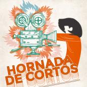 Hornada de Cortos. Un projet de Illustration , et Design graphique de Carmen Vázquez - 01.05.2019