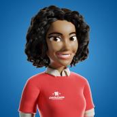 Aidê. Un proyecto de 3D, Diseño de personajes, Escultura, Rigging, Retoque fotográfico, Modelado 3D, Concept Art y Diseño de personajes 3D de Wesley Sales - 06.06.2019
