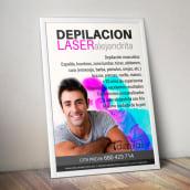 Cartel Depilas. Un proyecto de Diseño gráfico y Retoque fotográfico de Tanya - 10.06.2019