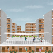 Affordable Housing  . A Architektur project by PALMA - 11.06.2019