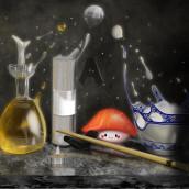 Mi Proyecto del curso: Pintura e ilustración realista con Procreate. Un proyecto de 3D de angelmro1990 - 14.06.2019