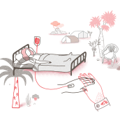"""Médicos sin fronteras. Un proyecto de Dibujo artístico e Ilustración de """"lanómada"""" - 15.06.2019"""