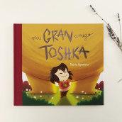Mi gran amigo Toshka. A Digital illustration, and Children's Illustration project by Núria Aparicio Marcos - 06.17.2019
