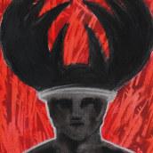 """""""Necronomicon"""" Mi Proyecto del curso: Técnicas de ilustración para desbloquear tu creatividad. Un proyecto de Dibujo e Ilustración de Raquel Labrador - 21.06.2019"""