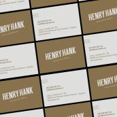Henry Hank Advertising Agency. Un proyecto de Fotografía, Dirección de arte y Diseño gráfico de Jennifer Vega - 21.06.2019