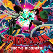 SPIDERMAN: INTO THE SPIDERVERSE Silck Screen Print. A Illustration, Vektorillustration, Plakatdesign und Digitale Illustration project by Alex Arizmendi - 24.05.2019
