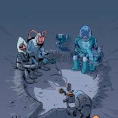 Portada para el anuario de cómics Jotdown 2019. Un proyecto de Ilustración de Albert Monteys Homar - 25.06.2019