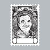 Proyecto curso: Técnicas de grabado digital - Gabo. Un projet de Illustration vectorielle et Illustration numérique de Carlos J Roldán - 29.06.2019