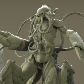 Mi Proyecto del curso: Escultura digital de criaturas fantásticas con ZBrush. Un proyecto de Diseño, Ilustración, Cine, vídeo, televisión, Diseño de personajes, Bellas Artes, Escultura, Diseño de juguetes, Cómic, Cine, Animación 3D, Creatividad, Ilustración digital, Modelado 3D, Videojuegos, Concept Art y Diseño de personajes 3D de Fito Barraza - 05.07.2019