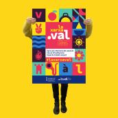la xarxa.val. Un proyecto de Diseño, Ilustración, Br, ing e Identidad y Naming de LOCANDIA Estudio - 12.07.2019