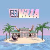 Voxi Villa. A Design, Animation, Animation von Figuren, 2-D-Animation und 3-D-Animation project by Yarza Twins - 12.07.2019