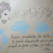 EL JUEGO DE LAS NUBES, J.W. GOETHE. Un proyecto de Bellas Artes de anna castaña - 13.07.2019