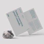 Cim. Un proyecto de Dirección de arte, Diseño gráfico y Tipografía de Maria Ricart Roig - 01.05.2019