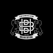 Mi Proyecto del curso: Diseño de monogramas con estilo HBDD. Un proyecto de Tipografía, Lettering y Diseño de logotipos de hugo molina - 17.07.2019