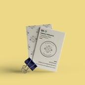 Diseño de Logo y Tarjetas de Contacto. Un proyecto de Fotografía, Br, ing e Identidad, Diseño editorial y Diseño gráfico de Clau Rodríguez Costas - 17.07.2019