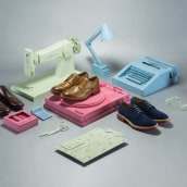 """Beckett Simonon - Campaña paper crafts  """"Inspired by the classics..."""". Un projet de Photographie, Sculpture , et Scénographie de Andres C - 10.05.2014"""