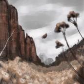 Mi Proyecto del curso: Pinceles y pixeles: introducción a la pintura digital en Photoshop. Un proyecto de Concept Art de Teresa Hernández - 26.07.2019