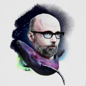 Mi Proyecto del curso: Retrato ilustrado con Photoshop. Un proyecto de Retoque fotográfico, Bocetado, Ilustración digital y Dibujo de Retrato de Miguel Angel Padilla Jiménez - 31.07.2019