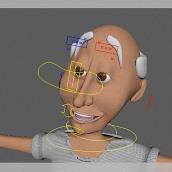 Mi Proyecto del curso: Rigging: articulación facial de un personaje 3D. A Rigging project by Abril Bautista - 08.02.2019