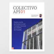 Colectivo API magazine. Un progetto di Progettazione editoriale, Design interattivo , e Tipografia di Toni Castro García - 02.08.2019