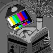 Bad News. Un proyecto de Ilustración, Animación, Diseño de personajes, Animación 2D e Ilustración digital de Stephany Mesa - 06.08.2019