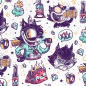 Felix // Fan Art . Um projeto de Design de personagens de Guacala Studio - 13.11.2018