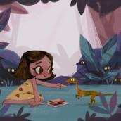 Jurassic Park . A Illustration, Digital illustration, and Children's Illustration project by Gemma Román - 06.07.2019