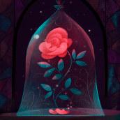 Campaña de redes para Disney. A Digital illustration & Illustration project by Gemma Román - 03.08.2017