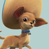 Champion Dog Razas Pequeñas. A Advertising, 3D, Character animation, 3D Animation, and 3D Character Design project by Juan Paulo Mardónez - 08.19.2019