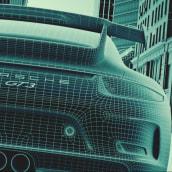 Mobil, La Sangre de Porsche. A Advertising, 3D, Lighting Design, VFX, Character animation, 3D Animation, 3d modeling, Concept Art, and Digital architecture project by Juan Paulo Mardónez - 08.19.2019