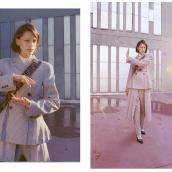 JUEGO DE LÍNEAS (MARIE CLAIRE MÉXICO Y LATIN AMÉRICA). A Photograph, and Fashion photograph project by VIRIDIANA - 08.31.2019