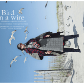 BIRD ON A WIRE (MARIE CLAIRE). A Photograph, and Fashion photograph project by VIRIDIANA - 08.31.2019