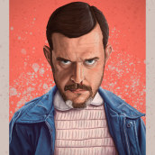 Mi Proyecto del curso: Técnicas digitales de retrato ilustrado. A Portrait illustration, and Digital illustration project by Diego Castedo González - 09.03.2019