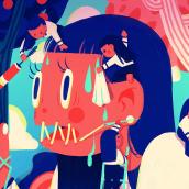 Ilustración digital. Um projeto de Design de personagens e Ilustração de Diana Peredo - 04.09.2019