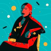 Retratos. Un projet de Illustration, Illustration numérique et Illustration de portrait de Chabaski - 04.09.2019