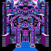Lord of Mictlan. Un progetto di Animazione 2D , e Pixel art di Galamot Shaku - 10.09.2019