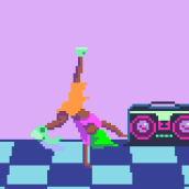 B Boy. Un progetto di Animazione 2D , e Pixel art di Galamot Shaku - 20.04.2015