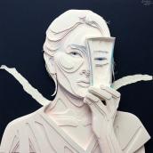 Retrato 2. Um projeto de Artes plásticas de Ale Rambar - 13.09.2019