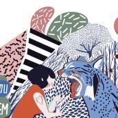 BE YOU NOT THEM.. Un projet de Design , Art urbain, Esquisse , Créativité, Illustration numérique, Peinture acr , et lique de Carmen Vázquez - 15.07.2019