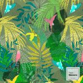 """Print All Over """"Pájaros a volar"""" . Un proyecto de Estampación de Pape Monsoriu - 19.09.2019"""