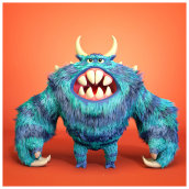 Nick Furry!. A 3D Character Design project by Guenrij Silva Veinbender - 09.21.2019